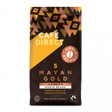 Cafedirect Mayan Gold Organic Coffee Beans - 227g