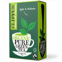 Case of 6 - Clipper Organic Green Tea - 20 Bags