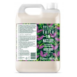 Faith In Nature Lavender & Geranium Shampoo - 5L