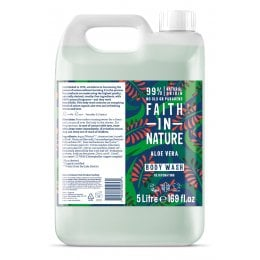 Faith In Nature Aloe Vera Body Wash - 5L