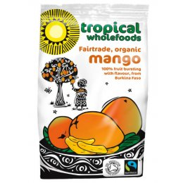 Case of 14 - Tropical Wholefoods Organic Fairtrade Mango - 100g
