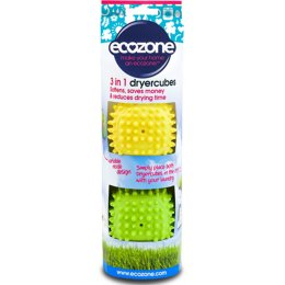 Ecozone Dry Cubes For Super Soft Clothes - Pack of 2