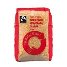Traidcraft Fair Trade Demerara Sugar - 500g
