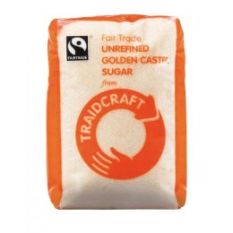 Traidcraft Fair Trade Golden Caster Sugar - 500g