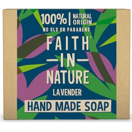 Case of 6 - Faith in Nature Soap - Lavender - 100g