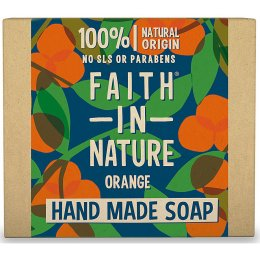 Case of 6 - Faith in Nature Soap - Orange  - 100g