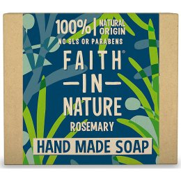 Case of 6 - Faith in Nature Soap - Rosemary - 100g
