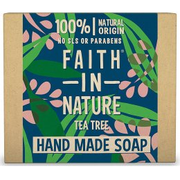 Case of 6 - Faith in Nature Soap - Tea Tree - 100g