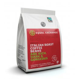 Equal Exchange Italian Coffee Whole Beans  - 227g