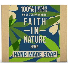 Case of 6 - Faith in Nature Soap - Hemp with Lemongrass & Green Tea - 100g
