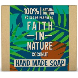 Case of 6 - Faith in Nature Soap - Coconut - 100g