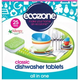 Ecozone Dishwasher Tablets Classic - Pack of 25