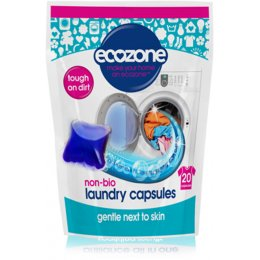 Ecozone Non-Bio Laundry Capsules - Pack of 20