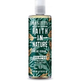 Faith In Nature Mens Blue Cedar Shampoo - 400ml