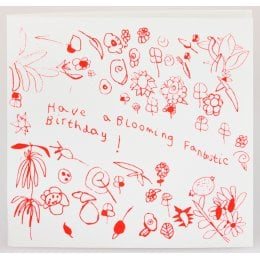 ARTHOUSE Unlimited Charity Blooming Fantastic Birthday Card