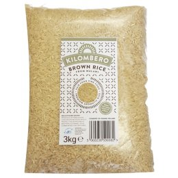 Kilombero Brown Rice - 3kg
