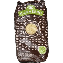 Kilombero Brown Rice - 1kg