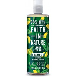 Faith in Nature Lemon & Tea Tree Shampoo - 400ml