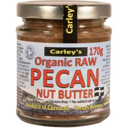 Carleys Organic Raw Pecan Butter - 170g