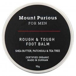 Mount Purious for Men Rough & Tough Foot Balm - 90g