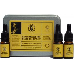 Good Day Organics Sharp Dressed Man Beard Oils Gift Set