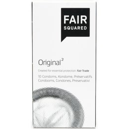Fair Squared Vegan Condoms - Original - Pack of 10