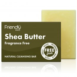 Case of 6 - Friendly Soap Natural Shea Butter Facial Soap Bar - 95g