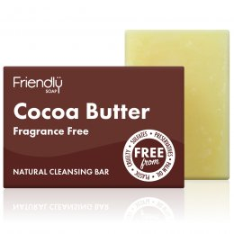 Case of 6 - Friendly Soap Natural Cocoa Butter Facial Soap Bar - 95g