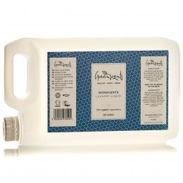 Greenscents Concentrated Organic Non-Bio Laundry Liquid - Unscented - 5L