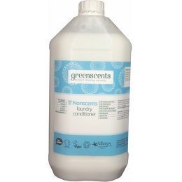 Greenscents Organic Fabric Conditioner Unscented - 5L