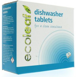 Ecoleaf Dishwasher Tablets - 70 Tablets