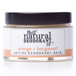 Natural Deodorant Co Active Deodorant Balm - Orange & Bergamot - 55g