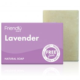 Case of 6 - Friendly Soap Lavender Bath Soap - 95g