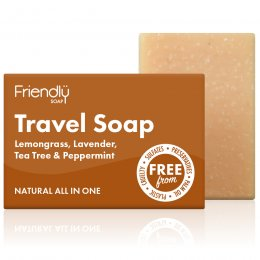 Case of 6 - Friendly Soap Hair & Body Travel Soap Bar - 95g
