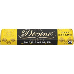 Case of 30 - Divine Caramel Dark Chocolate - 35g