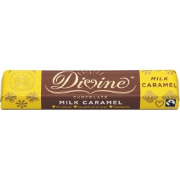 Case of 30 - Divine Caramel Milk Chocolate - 35g