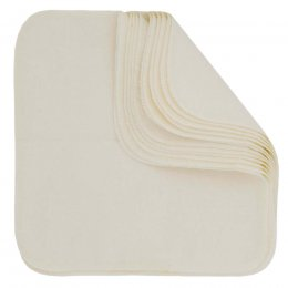 ImseVimse Reusable Cloth Wipes - White