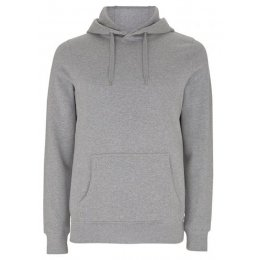 Organic Cotton Pullover Hoodie - Grey