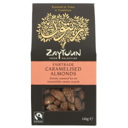 Zaytoun Caramelised Almonds - 140g