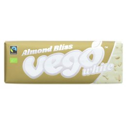 Vego Almond Bliss White Chocolate Bar - 50g