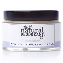 Natural Deodorant Co Gentle Deodorant Cream - Lavender - 55g