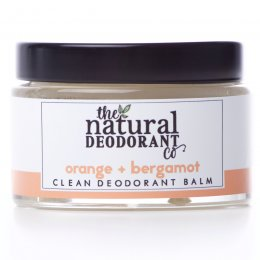 Natural Deodorant Co Clean Deodorant Balm - Orange & Bergamot - 55g