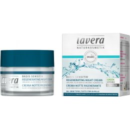 Lavera Basis Sensitiv Regenerating Night Cream - 50ml