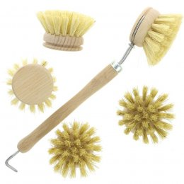 Hill Brush Company Washing Up Brush & Four Replacement Heads