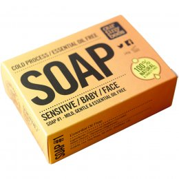 Our Tiny Bees Cold Pressed Soap - Sensitive - 140g
