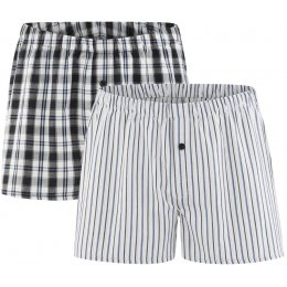 Organic Cotton Woven Gregor Boxer Shorts - Pack of 2