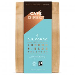 Cafedirect London Fields Congo Organic Ground Coffee - 200g