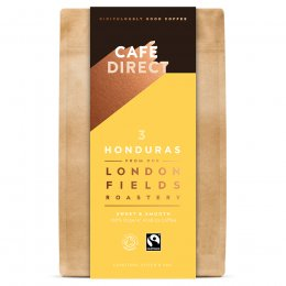 Cafedirect London Fields Honduras Organic Ground Coffee - 200g