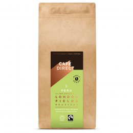 Cafedirect London Fields Peru Espresso Organic Coffee Beans - 1kg