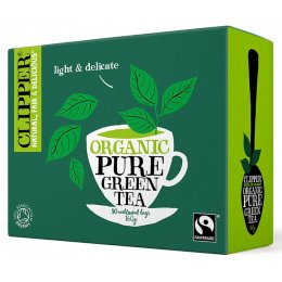 Clipper Organic Pure Green Tea - 80 Bags